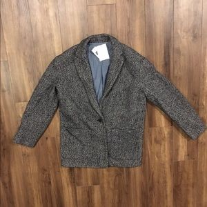 New With Tags Gap Oversized Tweed Blazer